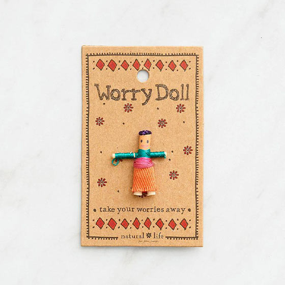 girl worry doll
