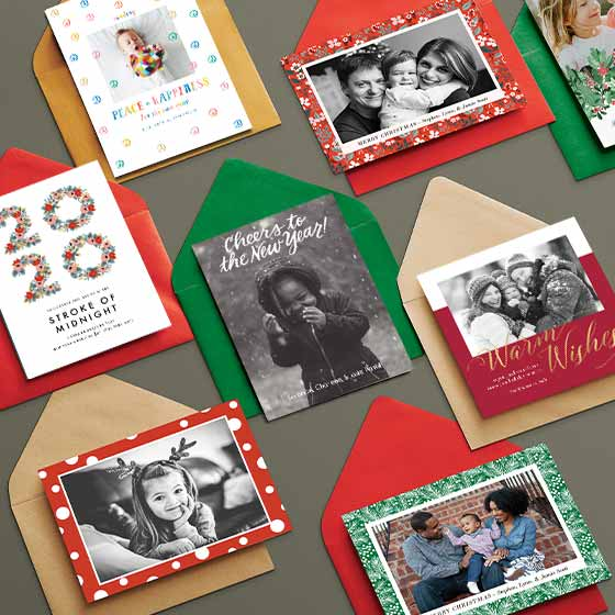 Custom Holiday Cards