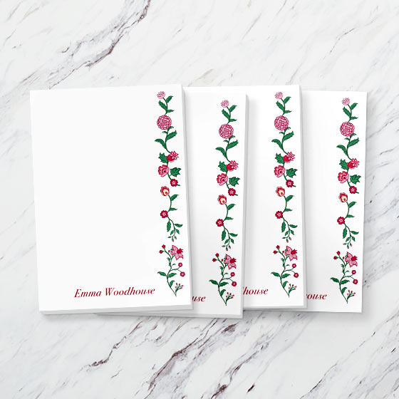 Custom Notepads from Emma collection