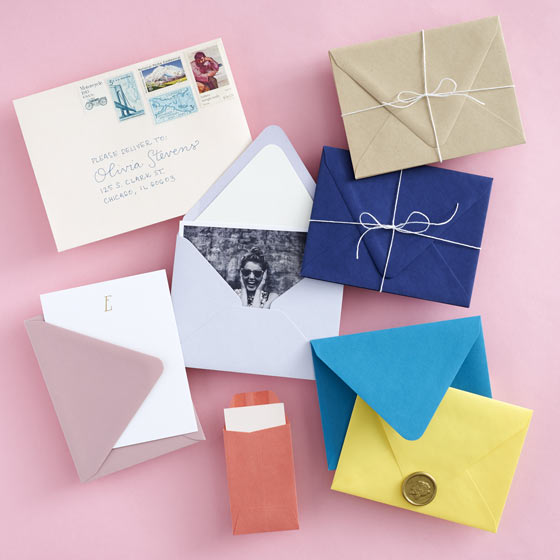 Colorful Envelopes and Notecards