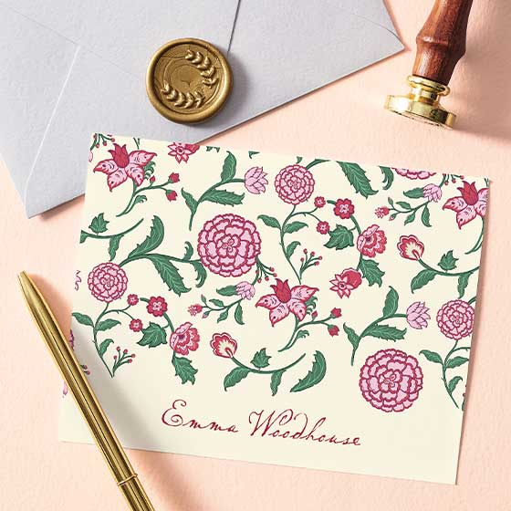 Personalized Stationery from Emma collection