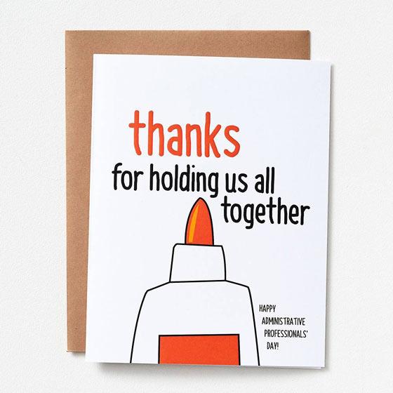 Holding Us Together Card