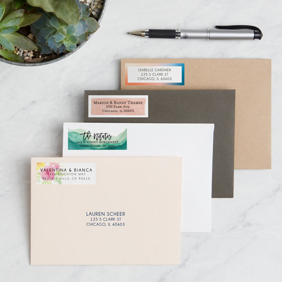 Beautiful Address Labels