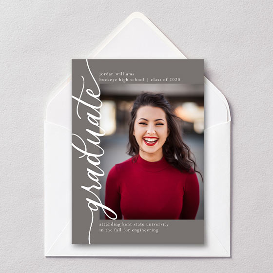 pretty graduation announcements