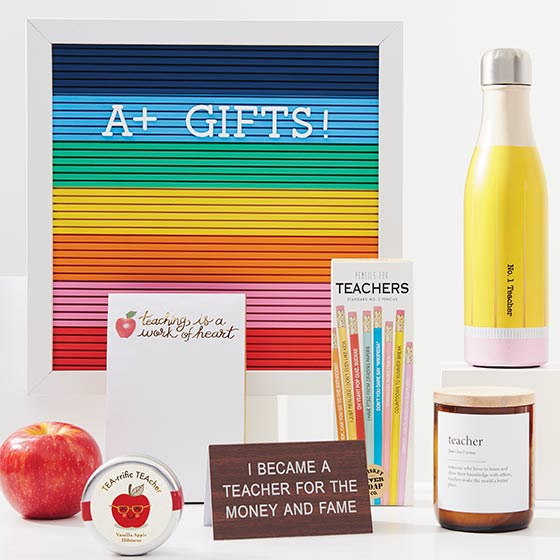 Array of Gifts for Teachers