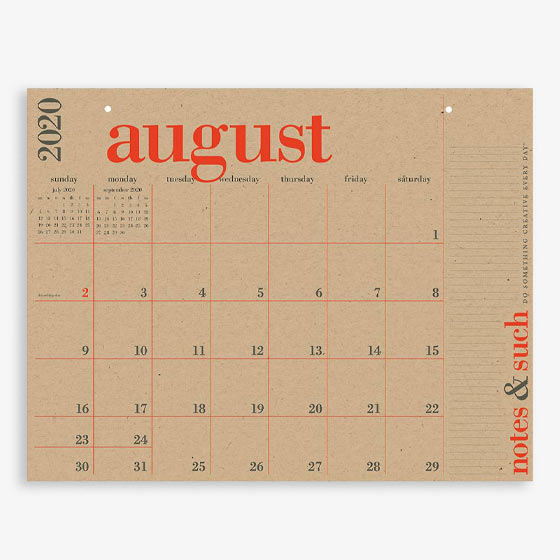 PS Great Big Calendar