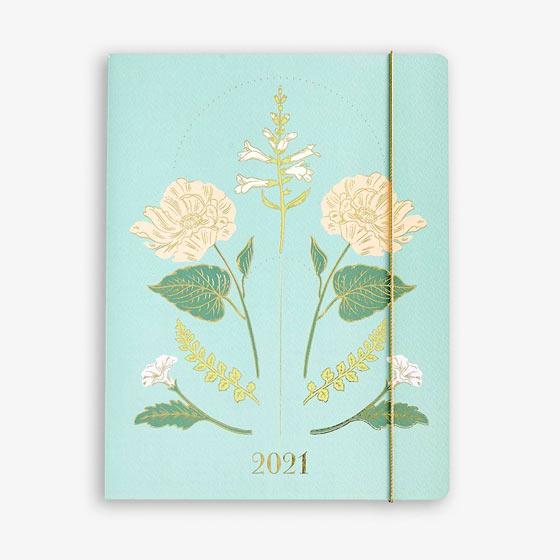 Vintage Floral Planner