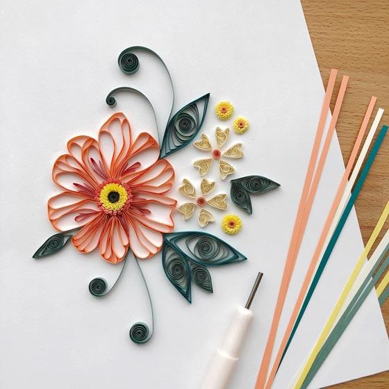Floral Quilling Workshop