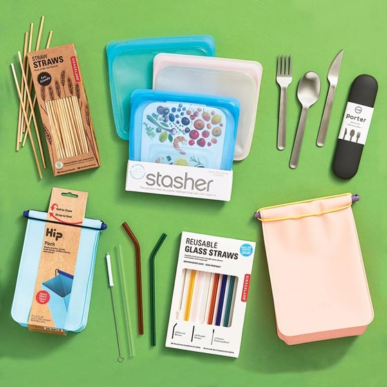 An Assortment of Eco-Friendly Gifts.