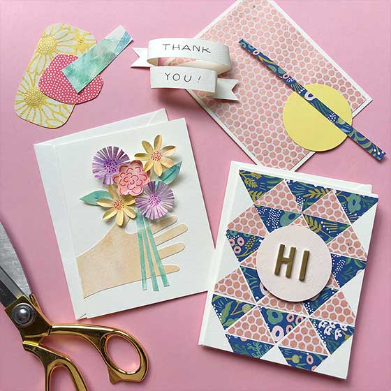Collage Card Making