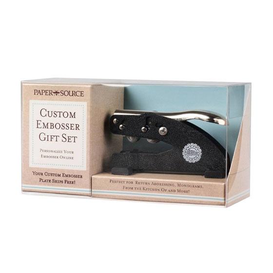 Custom Embosser Gift Set by Paper Source