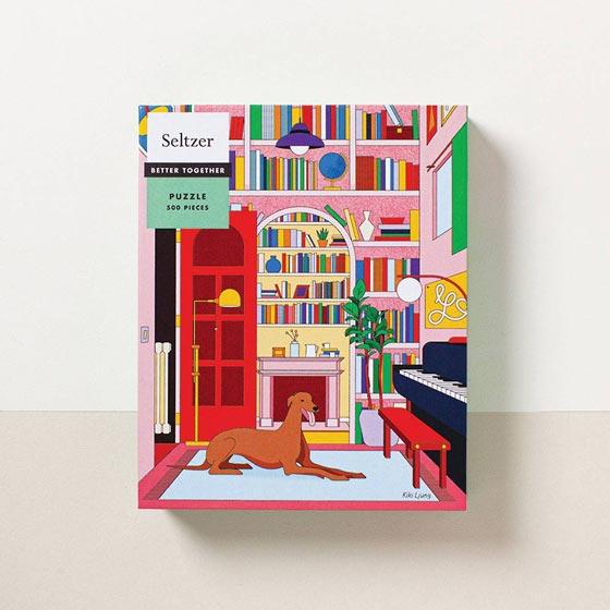 Seltzer Library Greyhound Puzzle