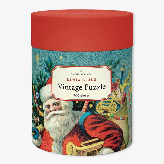 Santa Claus Puzzle by Cavallini & Co.