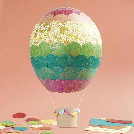 Crafted Hot Air Balloon