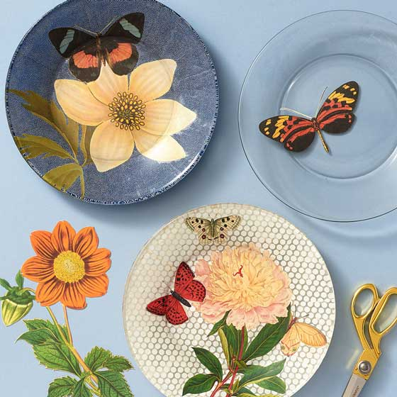 DIY Decoupage Plate Workshop