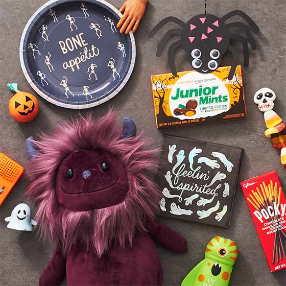 Assorted Halloween Gifts and Treats