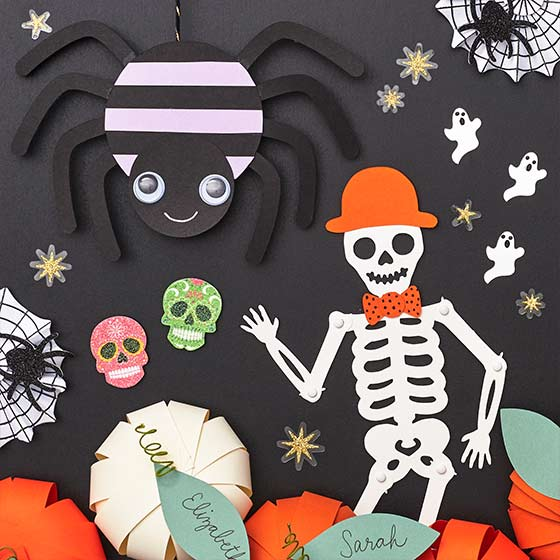 Assorted DIY Halloween Crafts