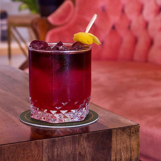 A Handcrafted Cocktail by Revival Food Hall