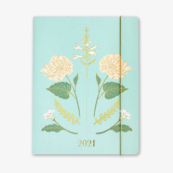 Vintage Floral Monthly Booklet