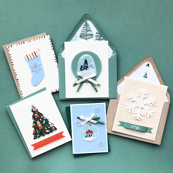 Winter Wonderland DIY Card Ideas Video