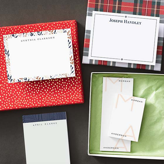 Personalized Stationery and Notepads
