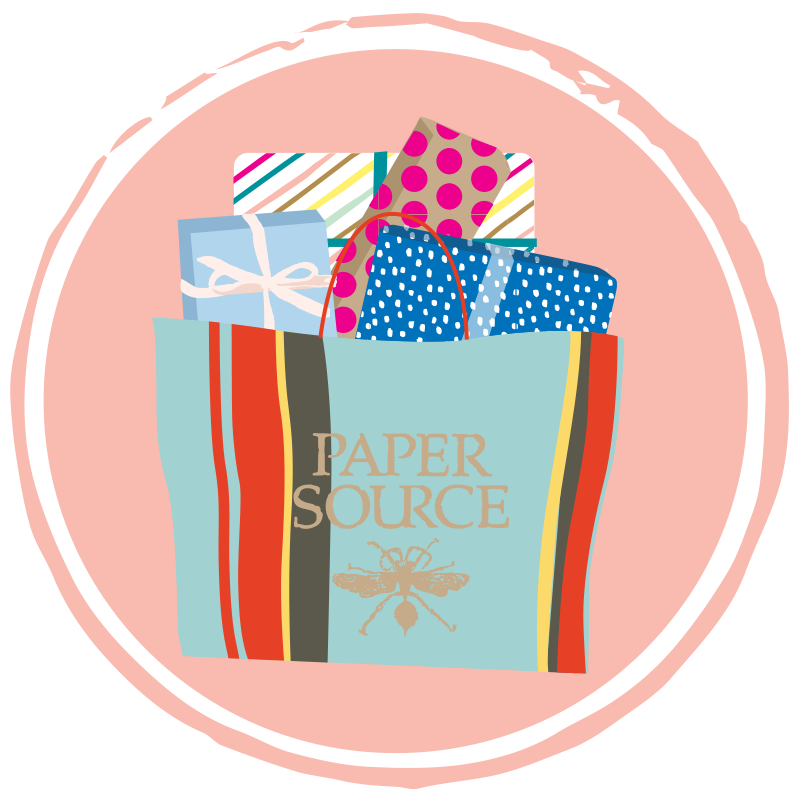 Paper Source Grab and Go Icon