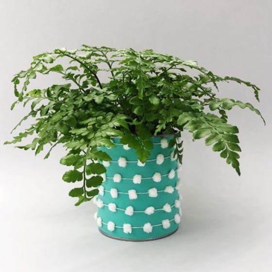 Pom Pom Planter DIY Gift
