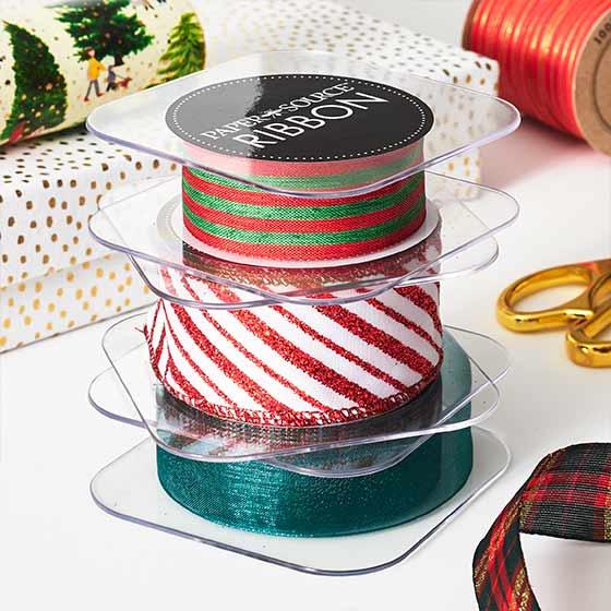 Beautiful holiday-themed ribbon