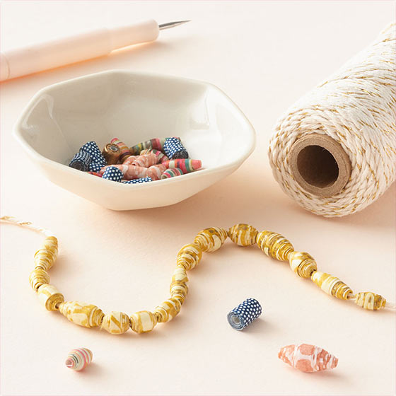 Paper Bead Making Virtual Workshop