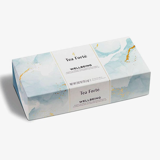 Organic green tea blends and herbal tisanes tea set that supports a calm state of mind and more.