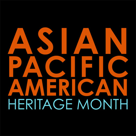 Asian Pacific American Heritage Month logo.