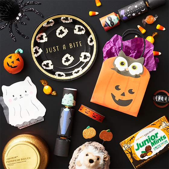 A Collection of Halloween Gifts and Treats.