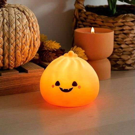 Adorable pumpkin dumpling light.