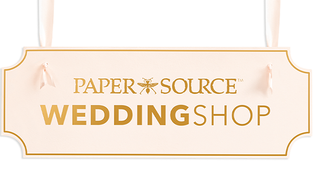 Paper Source Wedding Shop