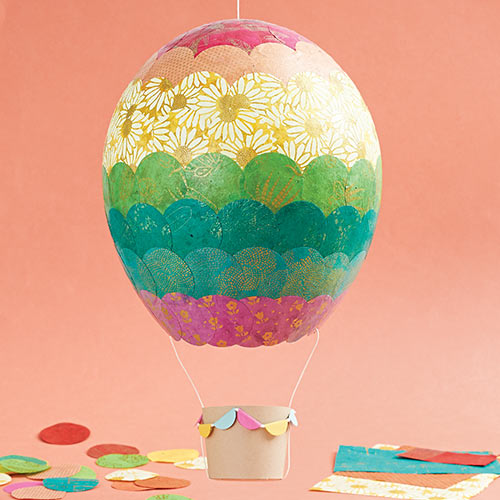 DIY Paper Hot Air Balloon