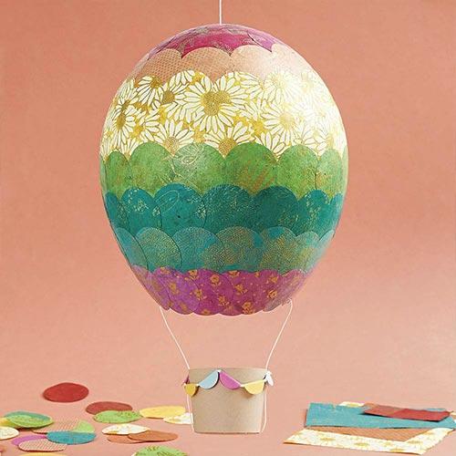Kid Hot Air Balloon DIY Craft Workshop