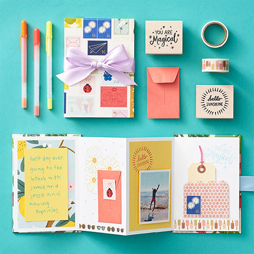 hand-stitched journals diy craft