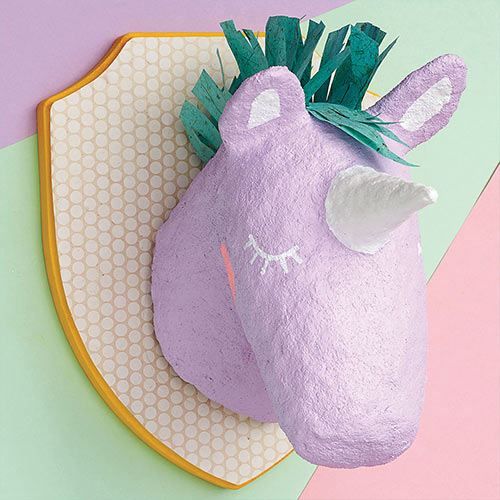 DIY paper mache animals
